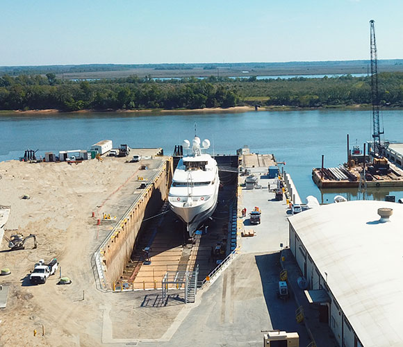 graving dock savannah yacht center